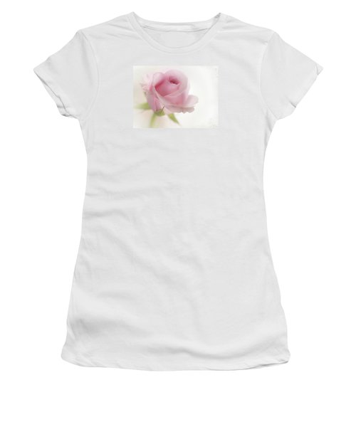 Women's T-Shirt (Junior Cut) featuring the mixed media Candy Floss by Morag Bates