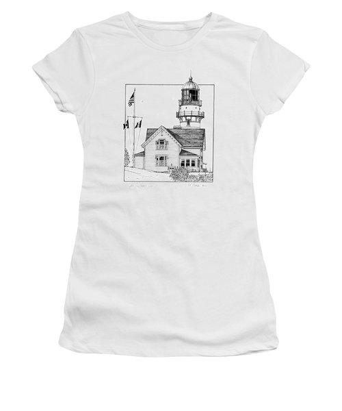 Cape Elizabeth Lighthouse Women's T-Shirt (Athletic Fit)