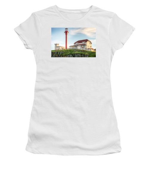 Cape Forchu Lighthouse Women's T-Shirt