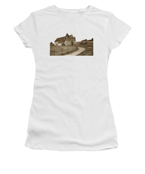 Carmel Mission Monterey Co. California Circa 1890 Women's T-Shirt (Athletic Fit)