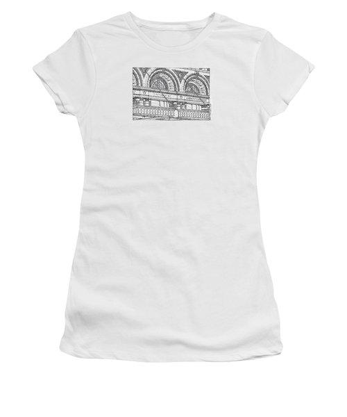 Carnegie Hall Women's T-Shirt (Junior Cut) by Ira Shander