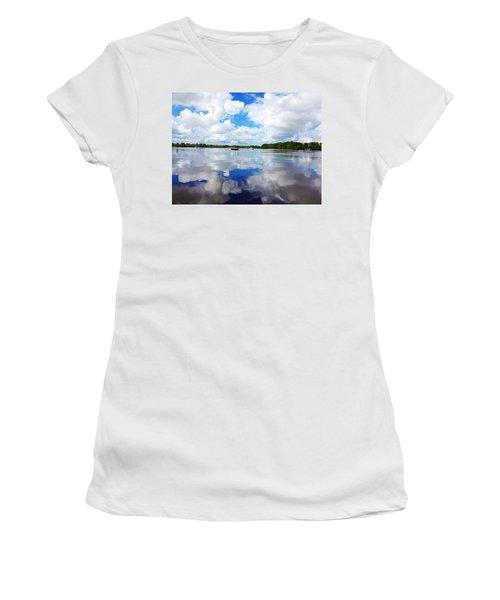 Carolina Blue- Washington Nc Women's T-Shirt (Athletic Fit)