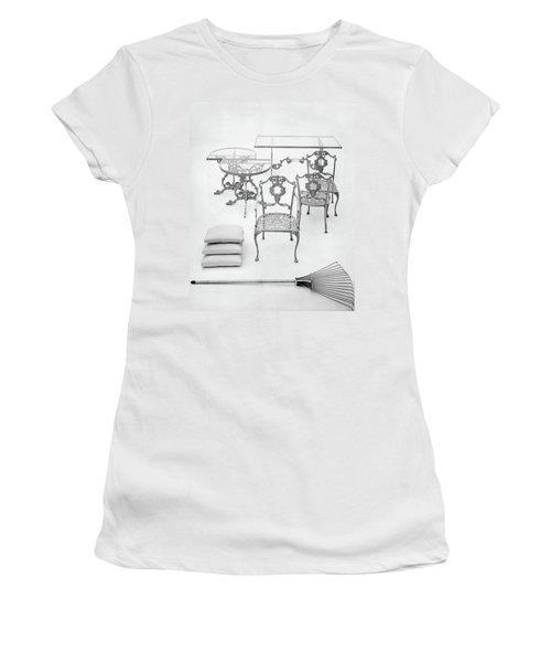 Cast Aluminum Furniture By Molla Women's T-Shirt