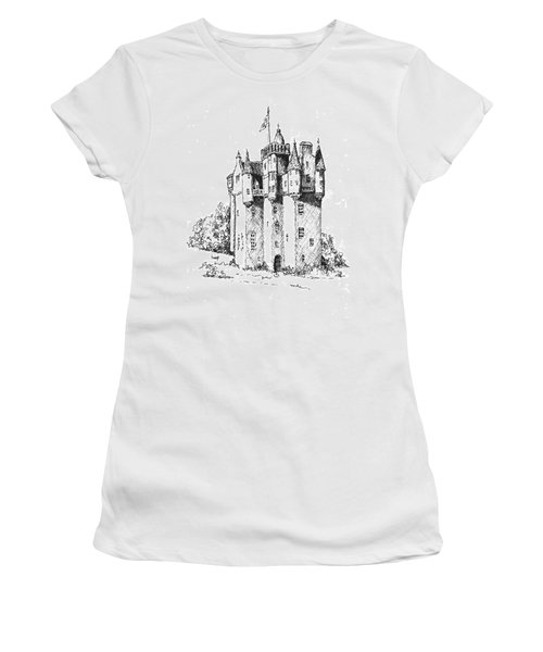 Castle Women's T-Shirt (Athletic Fit)