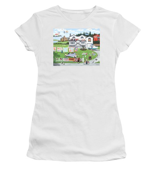 Cat Lovers Society  Women's T-Shirt (Athletic Fit)