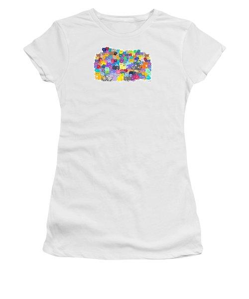 Catastrophy Women's T-Shirt (Junior Cut) by Nick Gustafson