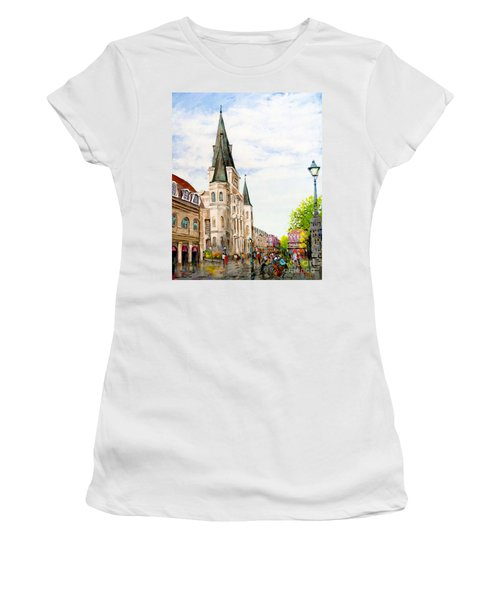 Cathedral Plaza - Jackson Square, French Quarter Women's T-Shirt