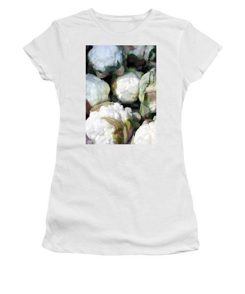 Cauliflower Bouquet Women's T-Shirt (Athletic Fit)