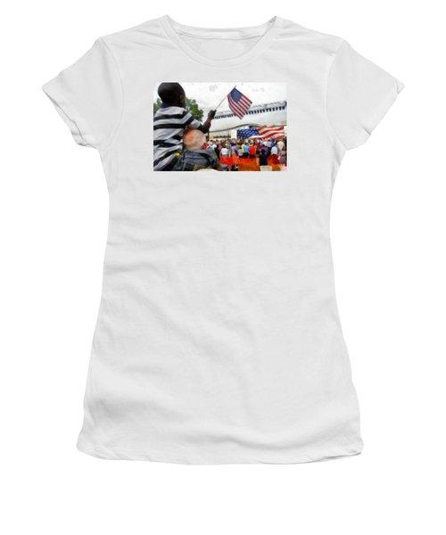 Celebrating Citizenship Women's T-Shirt (Athletic Fit)