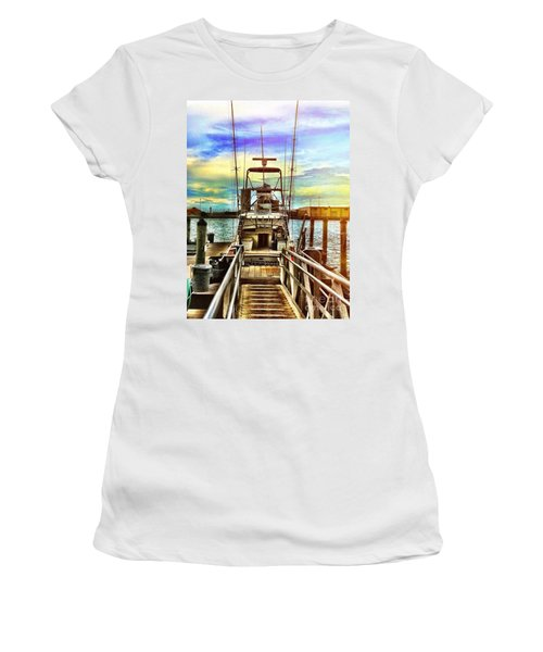 Centerfold Women's T-Shirt (Athletic Fit)