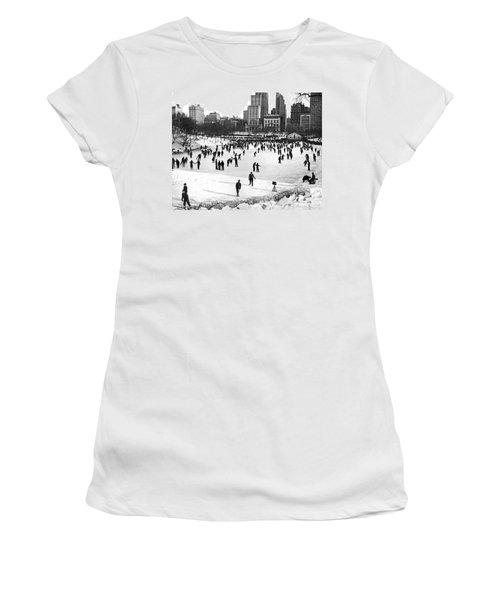 Central Park Winter Carnival Women's T-Shirt