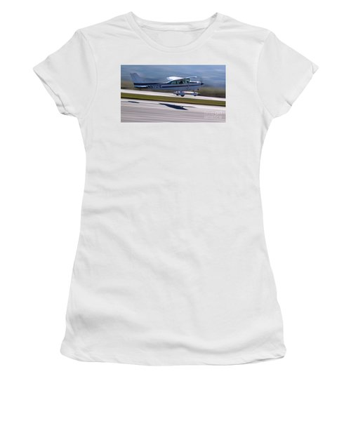 Cessna Takeoff Women's T-Shirt (Athletic Fit)