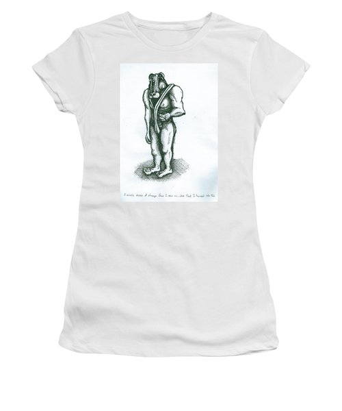 Character Sketch Women's T-Shirt (Athletic Fit)
