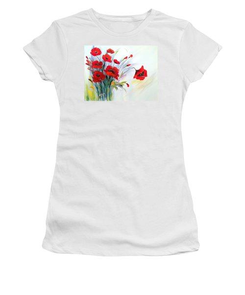 Charming Women's T-Shirt (Junior Cut) by Dorothy Maier