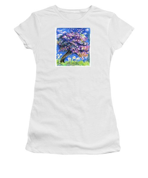 Cherry Blossom Spring. Women's T-Shirt