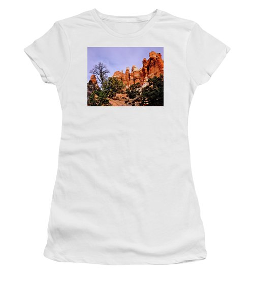 Chesler Park Pinnacles Women's T-Shirt (Athletic Fit)