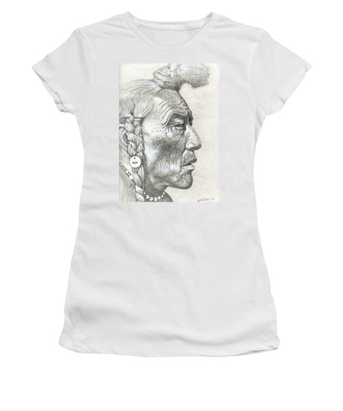Cheyenne Medicine Man Women's T-Shirt (Athletic Fit)