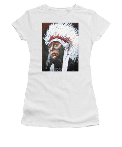 Chief Women's T-Shirt (Junior Cut) by Catherine Swerediuk