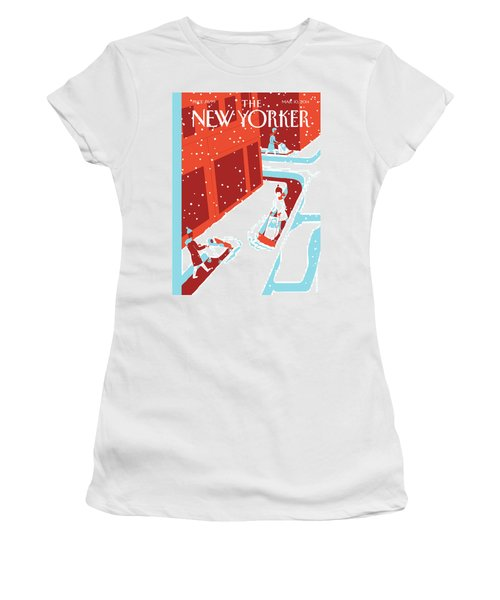 Snowplows Women's T-Shirt