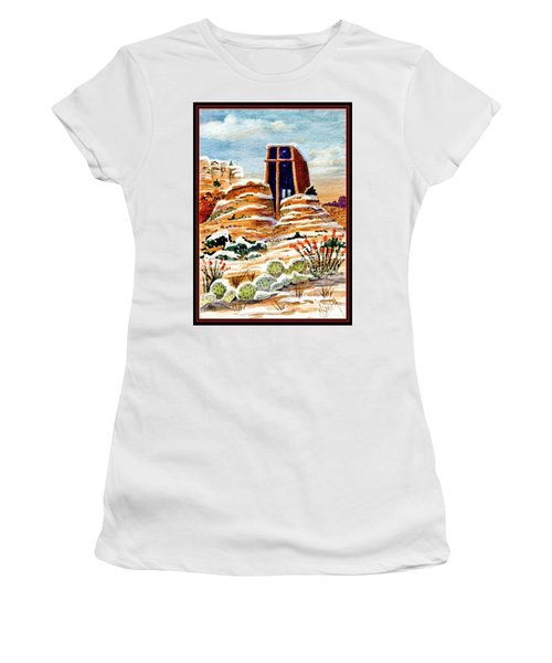 Christmas In Sedona Women's T-Shirt