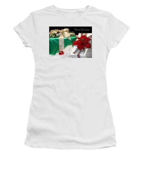 Christmas Presents Women's T-Shirt (Athletic Fit)