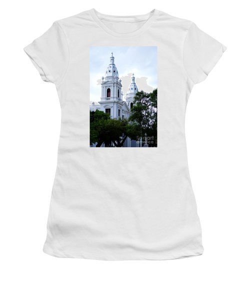 Church In Puerto Rico Women's T-Shirt (Athletic Fit)
