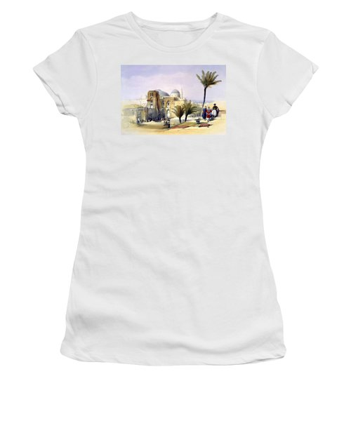Church Of The Holy Sepulchre In Jerusalem Women's T-Shirt (Athletic Fit)