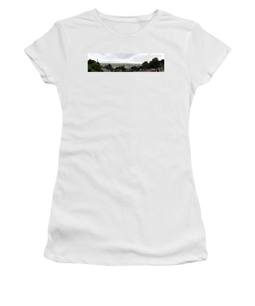 City Viewed From Sacre-coeur Basilica Women's T-Shirt