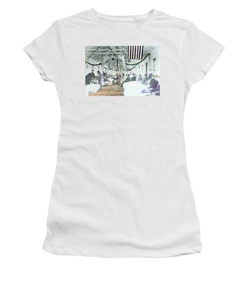 Civil War Era Photograph 1861 To 1865 Women's T-Shirt