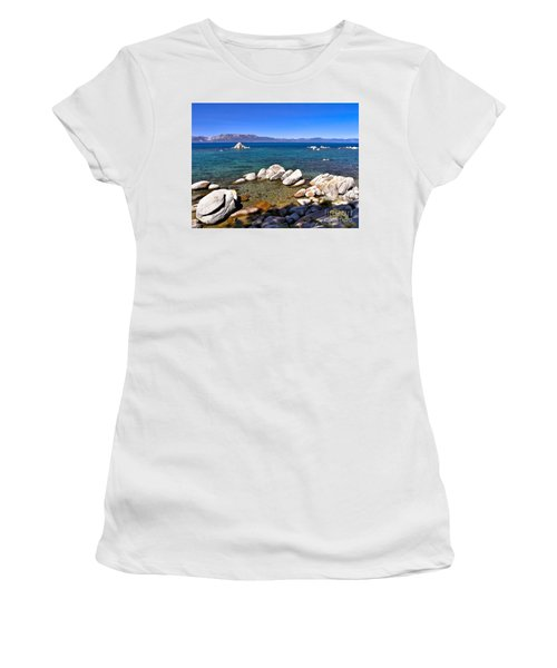 Clarity - Lake Tahoe Women's T-Shirt (Athletic Fit)