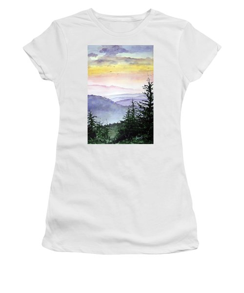 Clear Mountain Morning II Women's T-Shirt