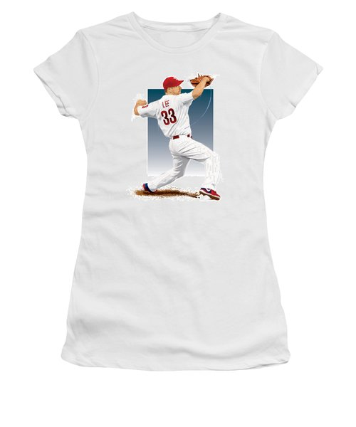 Cliff Lee Women's T-Shirt (Athletic Fit)