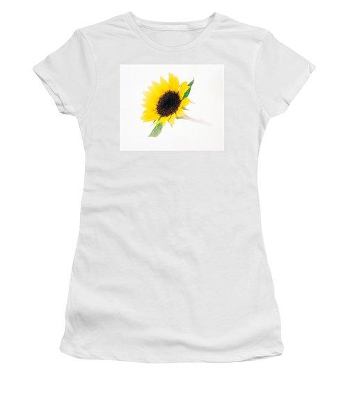 Close Up Of Sunflower Women's T-Shirt