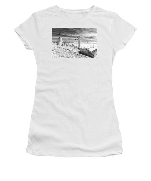 Cloud Lift Women's T-Shirt (Junior Cut) by Aaron Aldrich