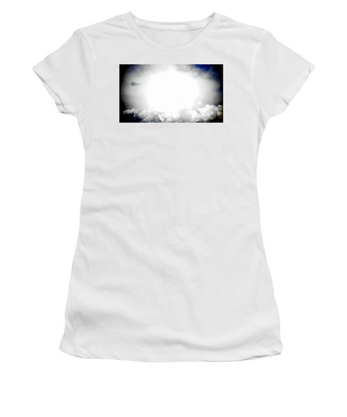 Cloudburst Sky Celestial Cloud Art Xl Resolution Women's T-Shirt (Athletic Fit)