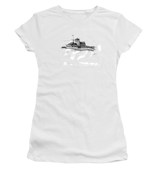 Coast Guard Station 2 Ocracoke 1970s Women's T-Shirt