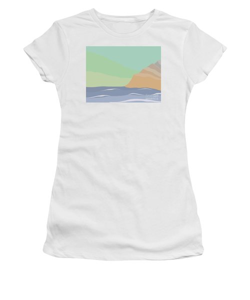 Coastal Bank Women's T-Shirt (Athletic Fit)