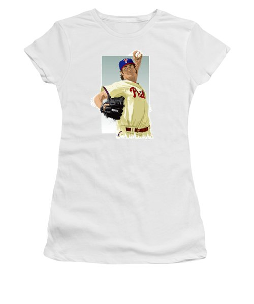 Cole Hamels Women's T-Shirt (Athletic Fit)