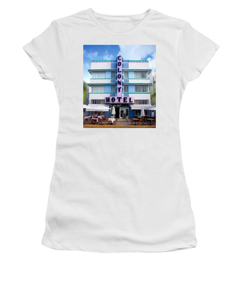 Colony Hotel Daytime Women's T-Shirt