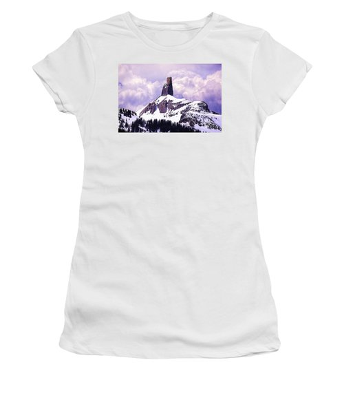 Colorados Lizard Head Women's T-Shirt (Athletic Fit)