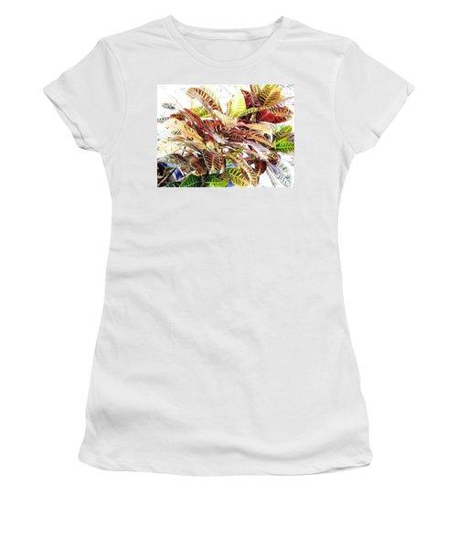 Colorful - Croton - Plant Women's T-Shirt