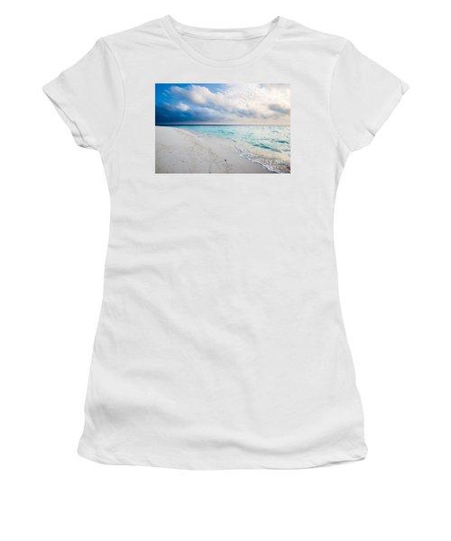 Colors Of Paradise Women's T-Shirt (Athletic Fit)