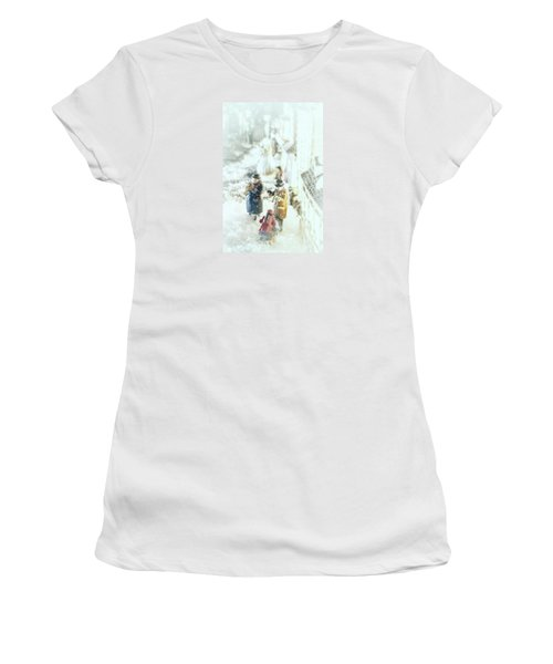 Concert In The Snow Women's T-Shirt (Athletic Fit)