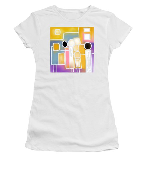 Connecting Women's T-Shirt (Athletic Fit)
