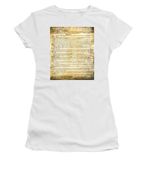 Constitution Of The United States Women's T-Shirt