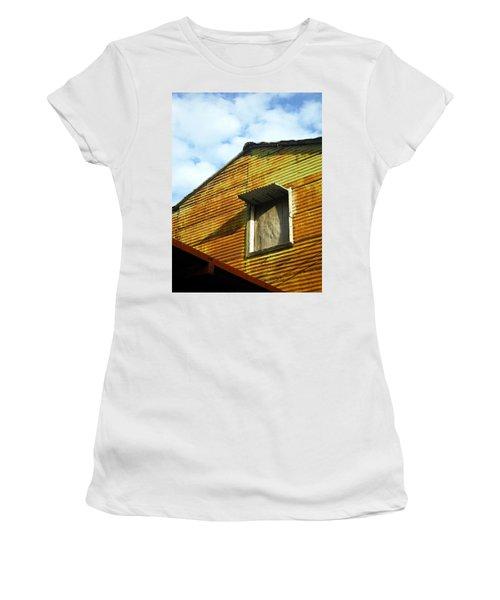 Conventillo Women's T-Shirt (Junior Cut) by Silvia Bruno