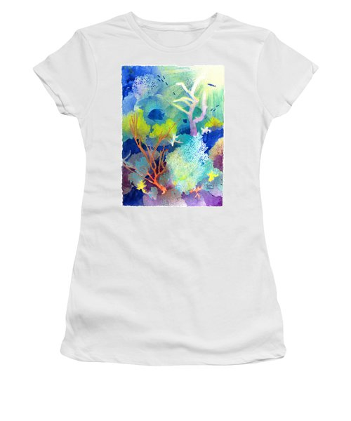 Coral Reef Dreams 1 Women's T-Shirt (Athletic Fit)