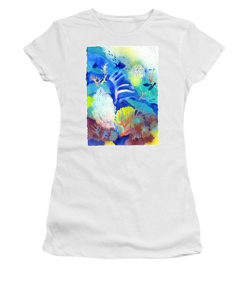 Coral Reef Dreams 3 Women's T-Shirt (Athletic Fit)