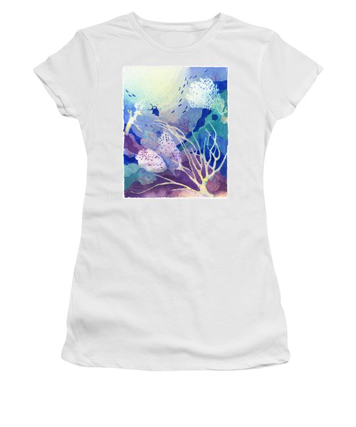 Coral Reef Dreams 4 Women's T-Shirt (Athletic Fit)