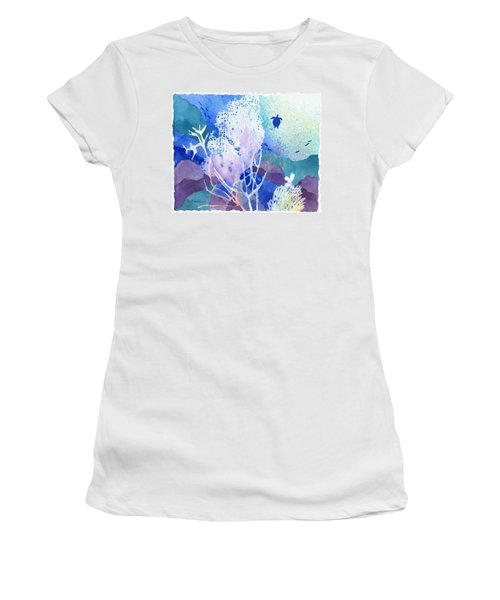 Coral Reef Dreams 5 Women's T-Shirt (Athletic Fit)